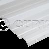 Chapa Trapezoidal T101 Blanca
