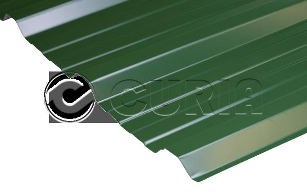 Chapa Trapezoidal T101 Verde